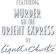 Featuring Murder on the orient express by Agatha Christe